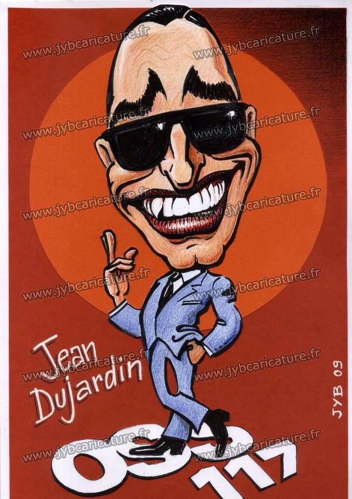 Caricature de jean dujardin oss 117 for Dujardin 117